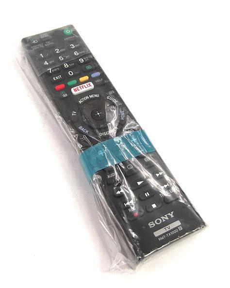 Remote Tv Sony Rmt Tx110p new genuine sony rmt tx100d tv remote