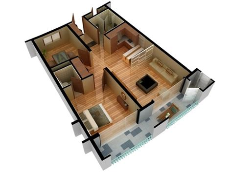 3d model floor plan 3d model of floor plan doll house