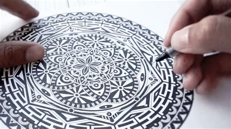 pattern znacenje watch me ink mandala a page from my color book youtube