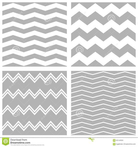 chevron pattern vector eps tile vector chevron pattern set with white and grey zig