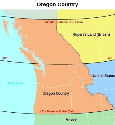 oregon country map 1846 the mexican american war 1846 1848 us history i os