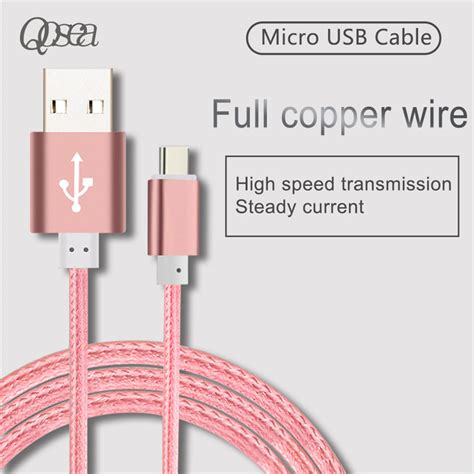 Vivan Csm100 1m Micro Usb Colorful Cable For Android qosea micro usb cable data line solid color mobile phone