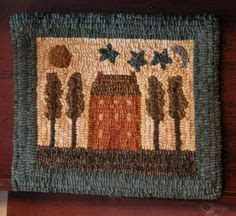 saltbox rug hooking 1000 images about hooked rugs houses on saltbox houses chair pads and rug hooking