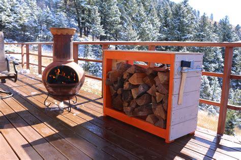 firewood rack   tutorial  plans