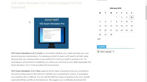 vce software full version crack download vce exam simulator 2 4 1 crack keygen full free download