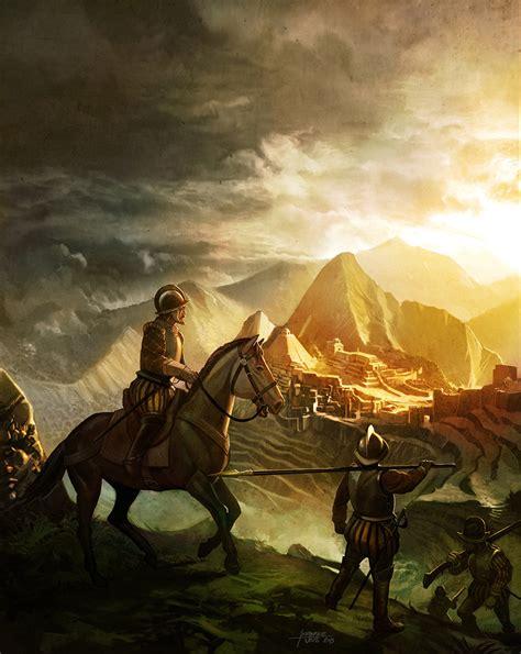deviantart painting the conquistadors by fab68 on deviantart