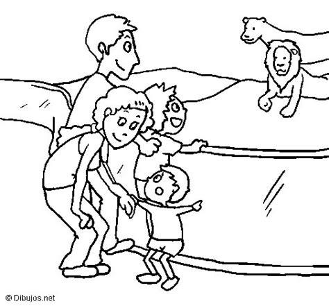 dibujos para colorear zoologico dibujo de zoo para colorear dibujos net