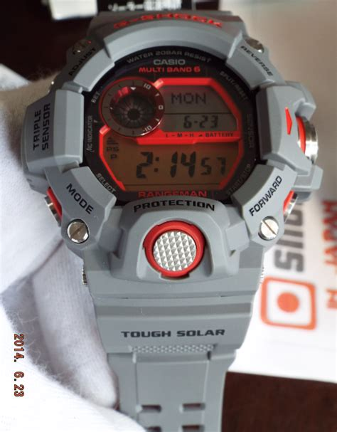 Holder Keeper G Shock 24 Mm Gw 9400 casio g shock rangeman gw 9400kj 8jr earthwatch shopping in japan net