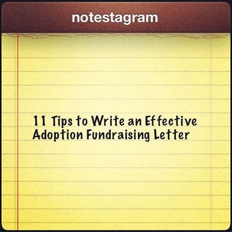 Fundraising Letter Tips 11 Tips To Write An Effective Adoption Fundraising Letter Fundraisingtips Adoptionfundraising