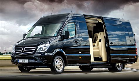Luxury Mercedes Sprinter X Senzati Muted