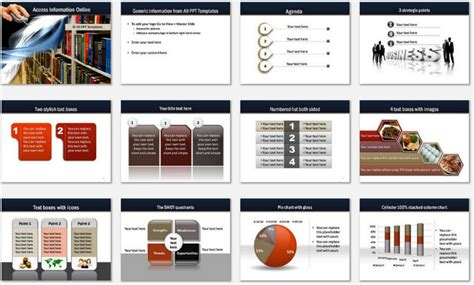 ppt templates for library powerpoint online library template