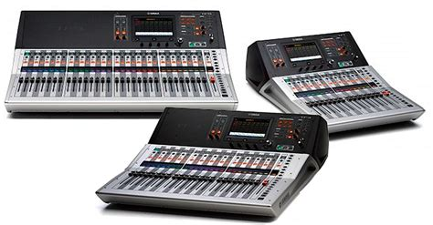 Mixer Yamaha Tf Series product hits of musikmesse prolight sound 2015 front