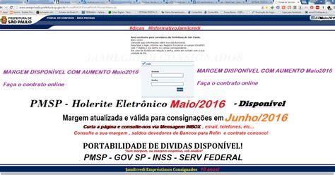 carto consignado servidor federal maio 2016 prefeitura municipal s 227 o paulo aumento de margem