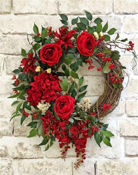 grapevine floral design home decor the best christmas wreath decoration ideas forchristmas 2017