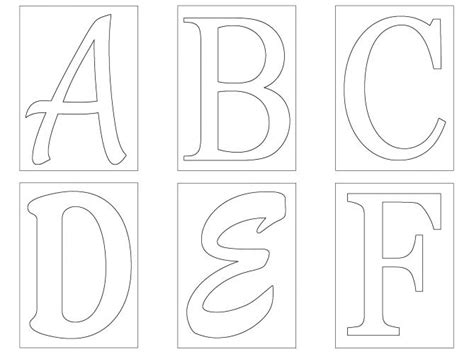 Letters Cut Outs Letter Free Printable Cut Out S For Posters Letter L Cut Out Template 3d Letter Templates To Cut Out