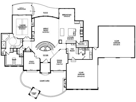 adobe floor plans adobe house plans house plans