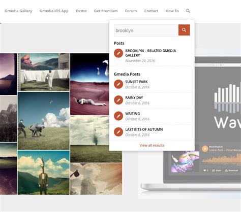 wordpress search layout wordpress gallery plugin gmedia gallery