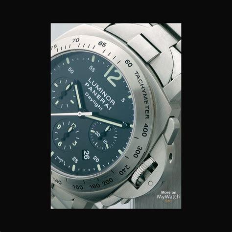 Panerai Daylight 3chrono Black panerai luminor chrono daylight luminor pam00236 steel black steel bracelet