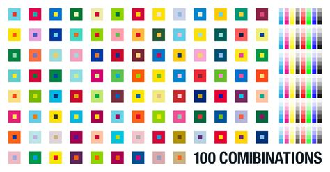 cool 2 color combinations 100 combinations of 2 color from pantone color library