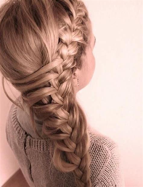 cool braids for hair cool side french braid hair pinterest