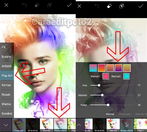 tutorial cara edit picsart tutorial picsart terbaru smoke effect keren di android