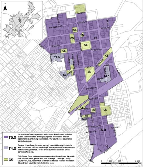 texas zoning map city seeks input on smartcode architectural standards san marcos mercury local news