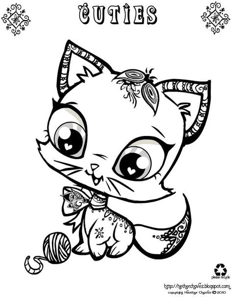 Coloring Pages For Printable cuties coloring pages printable coloring home