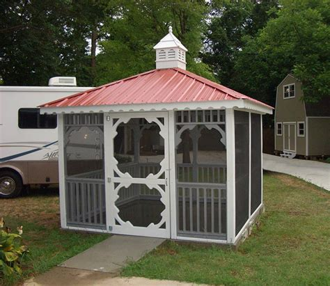 pavillon metall festes dach charming metal roof gazebo 10x10 gazeboss net ideas