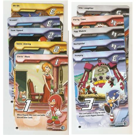 printable trading card games free sonic x trading card game 10 cards and rules