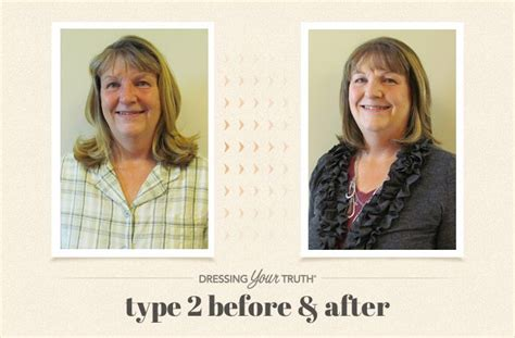 dressing your truth type 2 laura s type 2 dressing your truth makeover the carol