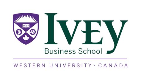 Ivey School Of Business Mba Program by Logos Ivey Brand