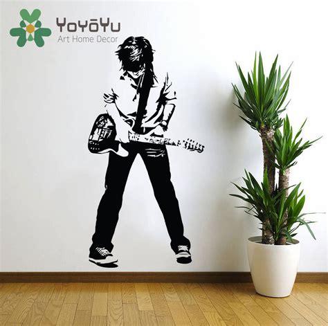 Rock N Roll Schlafzimmerdekor rockstar wandtattoos kaufen billigrockstar wandtattoos