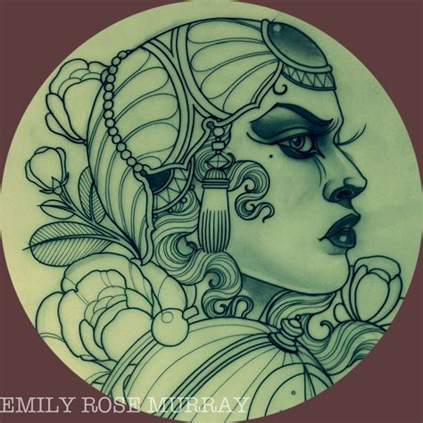 emily rose tattoos artwork by emily murray artwork for tattoos