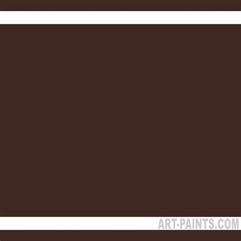 chocolate brown artist pastel paints fop12