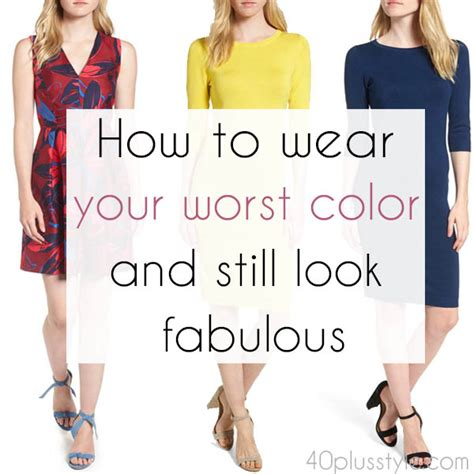worst color how to wear your worst color and still look fabulous