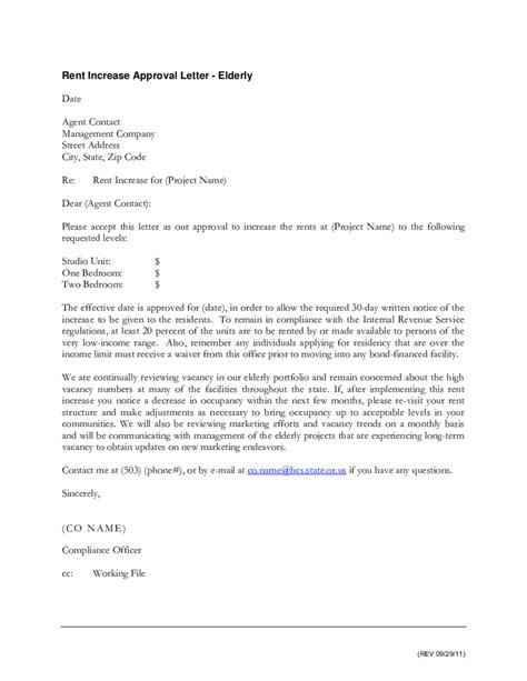 Letter Explaining Increase In Rent letter for rental increase zoro blaszczak co