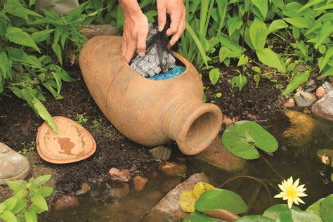 aquascape pond filter urn mechanical  biological