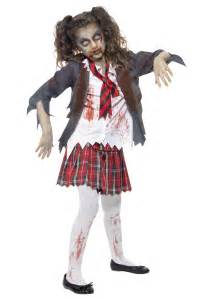 scary halloween costumes for girls kids zombie costume