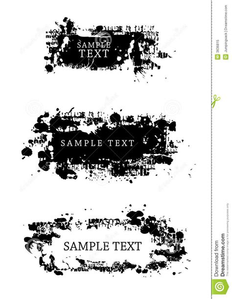 design elements style grunge style design elements stock vector image 3636815