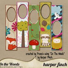 libro woodland craft customize and print these cuties for your kids or for your summer reading buddies crafts