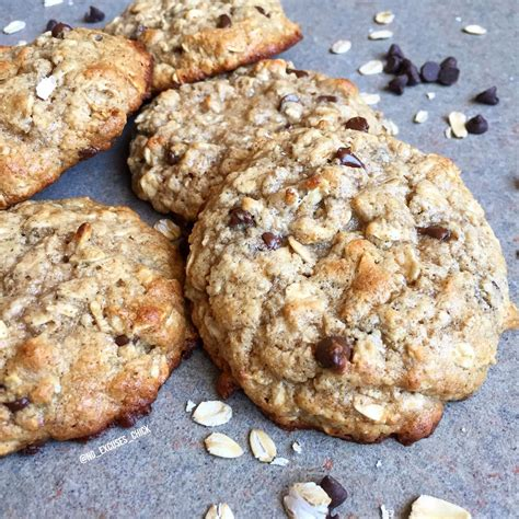 protein cookie recipe oatmeal chocolate chip protein cookies protein baking