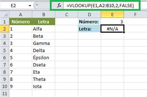 tutorial para usar vlookup funci 243 n vlookup en excel excel total