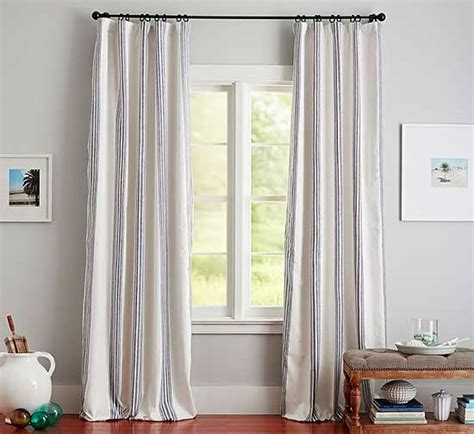 how to hang curtains on high window how to hang curtains