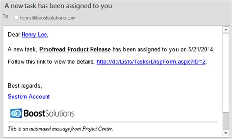 sharepoint reminder email workflow sharepoint alert reminder boost send customized alert email