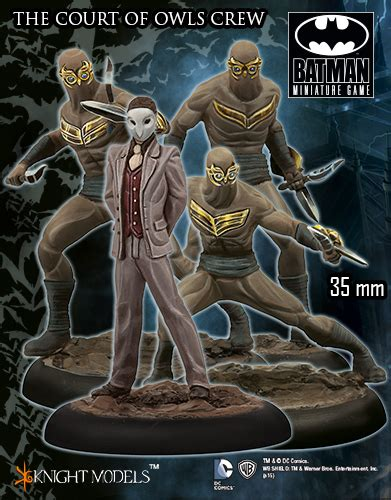 batman noir the court of owls books court of owls crew models shop