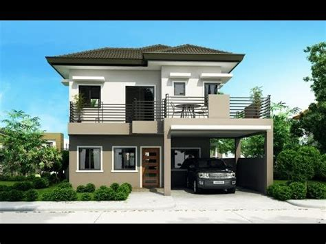 best modern house plans 50 best two story modern house designs in the philippines