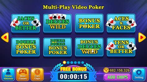pokermulti hand video poker games freefor   jacks  betterdeuces wildbonus video
