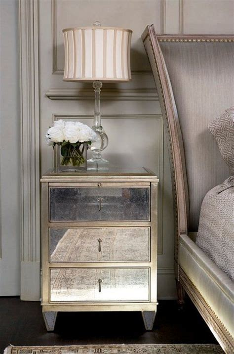 mirror side tables bedroom 17 best images about mirrored furniture on pinterest
