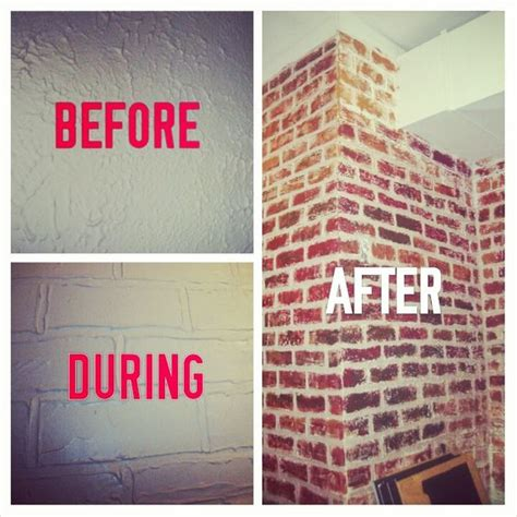 diy faux bricks paint paint colors brick walls and best paint colors
