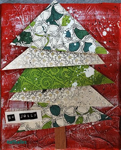christmas tree bingo pattern 101 best images about christmas art collage paintings tuts